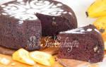 Шоколадно-банановые маффины в мультиварке