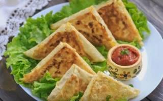 Как приготовить лаваш с сыром на сковороде