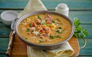 Рецепты горохового супа в мультиварке