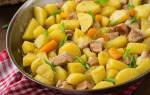 Рецепт тушеной картошки в мультиварке