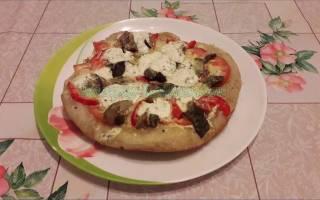 Рецепты пиццы в мультиварке