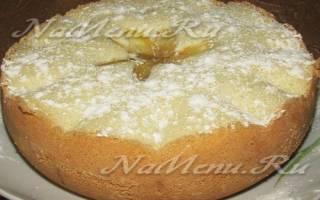 Рецепты шарлотки с яблоками в мультиварке