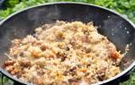 Как готовить плов с мясом в казане