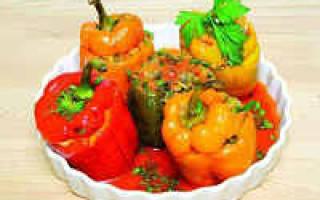 Как приготовить фаршированный перец в мультиварке Редмонд и Поларис? Простые рецепты с фото