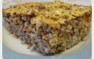 Готовим быстрый ужин: гречка с фаршем в мультиварках Редмонд и Поларис