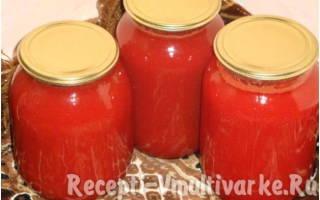 Рецепты блюд из томатного сока в мультиварке