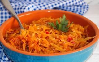 Рецепты блюд из капусты белокочанной в мультиварке