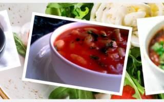 Суп из фасоли в мультиварке рецепт