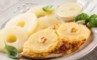 Как приготовить мясо с ананасами в духовке