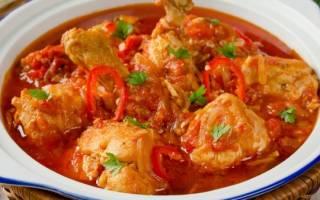 Что приготовить из чахохбили из курицы