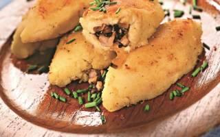 Как приготовить картофельные зразы с грибами