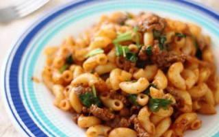 Мультиварка рецепты макароны с мясом