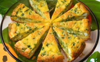 Пирог с луком и яйцом в мультиварке