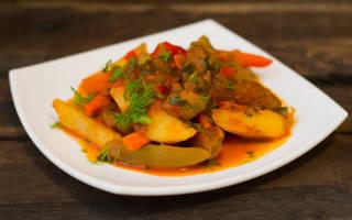 Как приготовить азу по татарски из свинины
