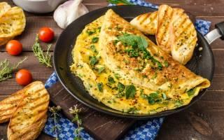 Как приготовить омлет с колбасой