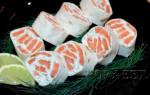 Как приготовить лаваш с красной рыбой