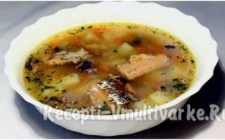 Суп из консервы в мультиварке