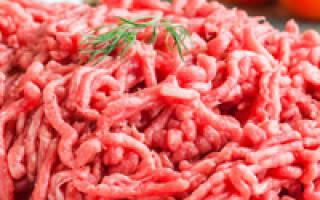 Как сделать фарш из говядины