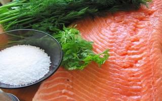 Как быстро посолить красную рыбу