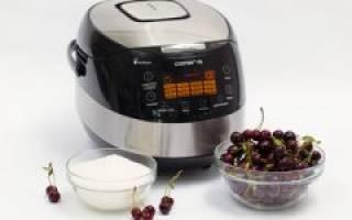 Рецепты блюд из вишни в мультиварке