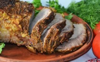 Как запечь мясо в мультиварке целым куском