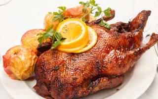 Как вкусно приготовить гуся в духовке рецепт