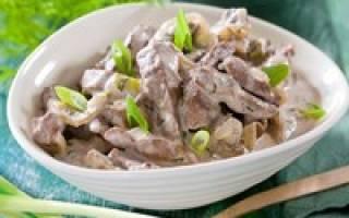 Рецепты блюд из говяжий печени в мультиварке