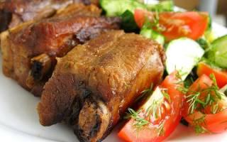 Как приготовить ребрышки свиные