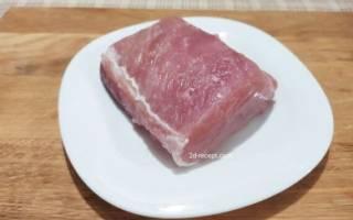 Как приготовить бастурму из свинины