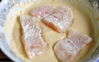 Как приготовить кляр для рыбы с майонезом