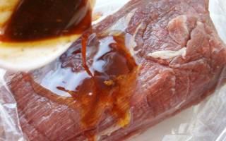 Как приготовить говядину в рукаве