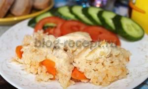 Плов с курицей в мультиварке – готовим с овощами и специями