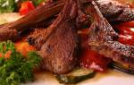 Как приготовить корейку баранины