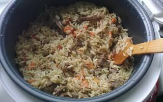 Пошаговые рецепты с фото для приготовления аппетитного плова со свининой в мультиварках Редмонд и Поларис