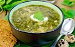 Рецепты блюд из щавеля в мультиварке