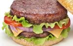 Как сделать котлету для гамбургера