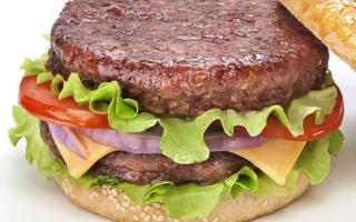 Как приготовить котлету для гамбургера