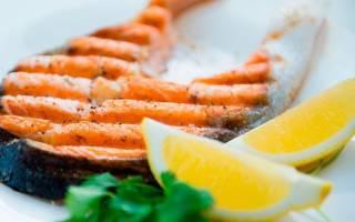 Морепродукты на гриле