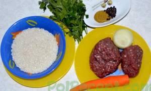 Фарш с рисом что можно приготовить