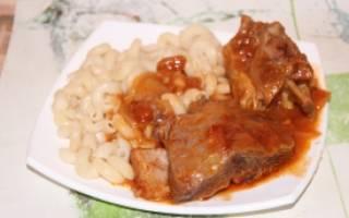 Рецепты блюд из говяжьих ребрышек в мультиварке