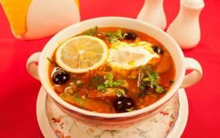 Суп солянка рецепт в мультиварке