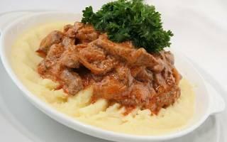 Как приготовить бифстроганы из свинины