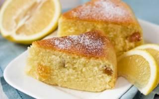 Лимонный кекс в мультиварке – рецепт как приготовить