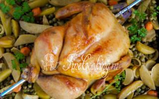 Сколько готовится курица гриль в духовке