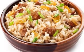 Говядина в мультиварке с рисом