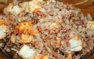 Как приготовить гречку с курицей в мультиварке