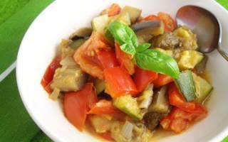 Овощное рагу в мультиварке (тушеные овощи)