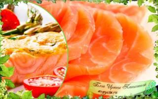 Как потушить красную рыбу