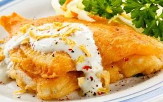 Как приготовить рыбу в кляре на сковороде
