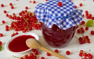 Как приготовить желе из красной смородины